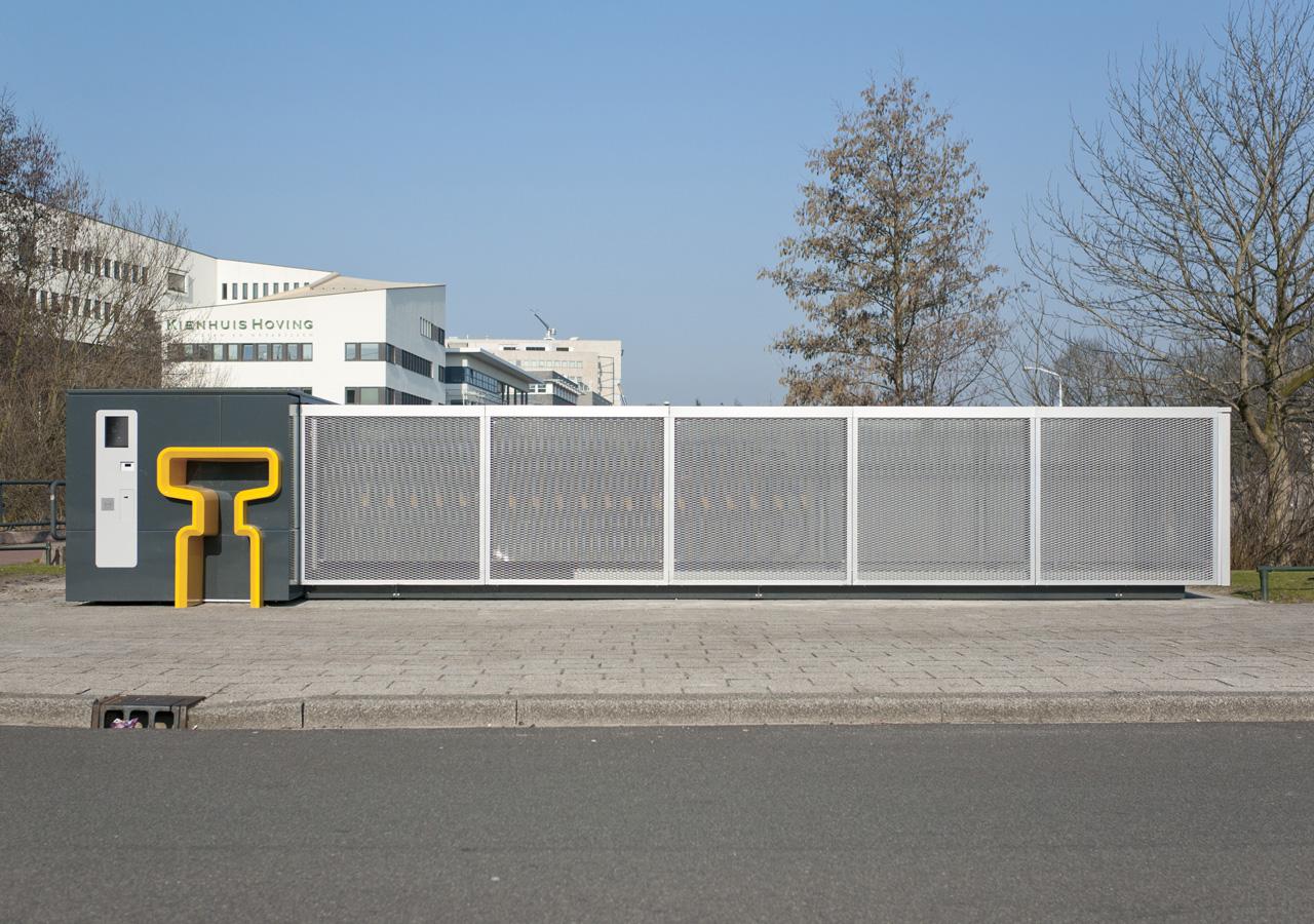 Bikedispenser - fietsstalling en verhuurautomaat