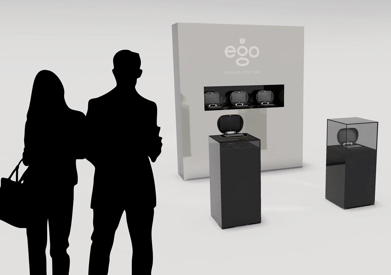 EGO Retail design - shop in shop