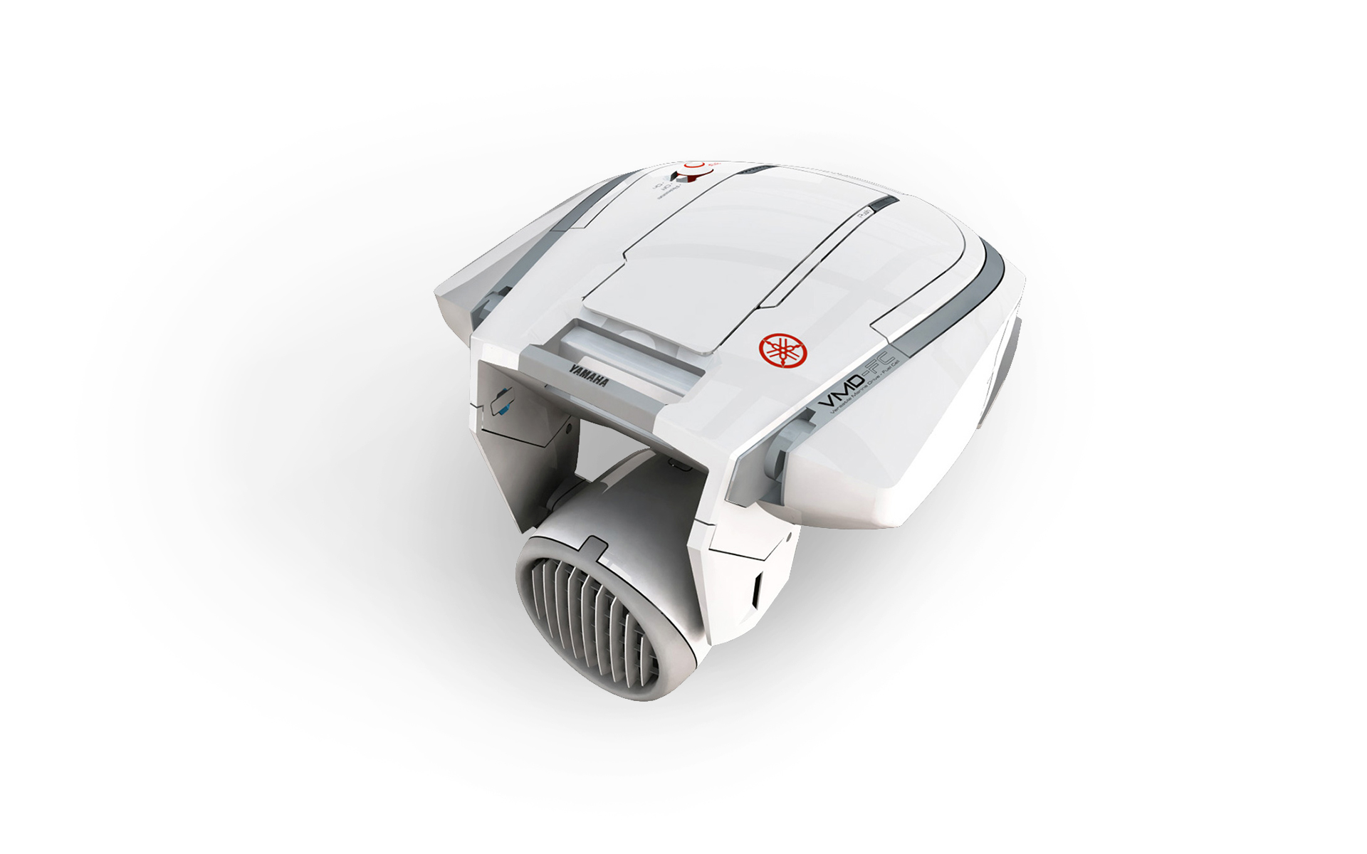 F-com fuel-cell outboard motor