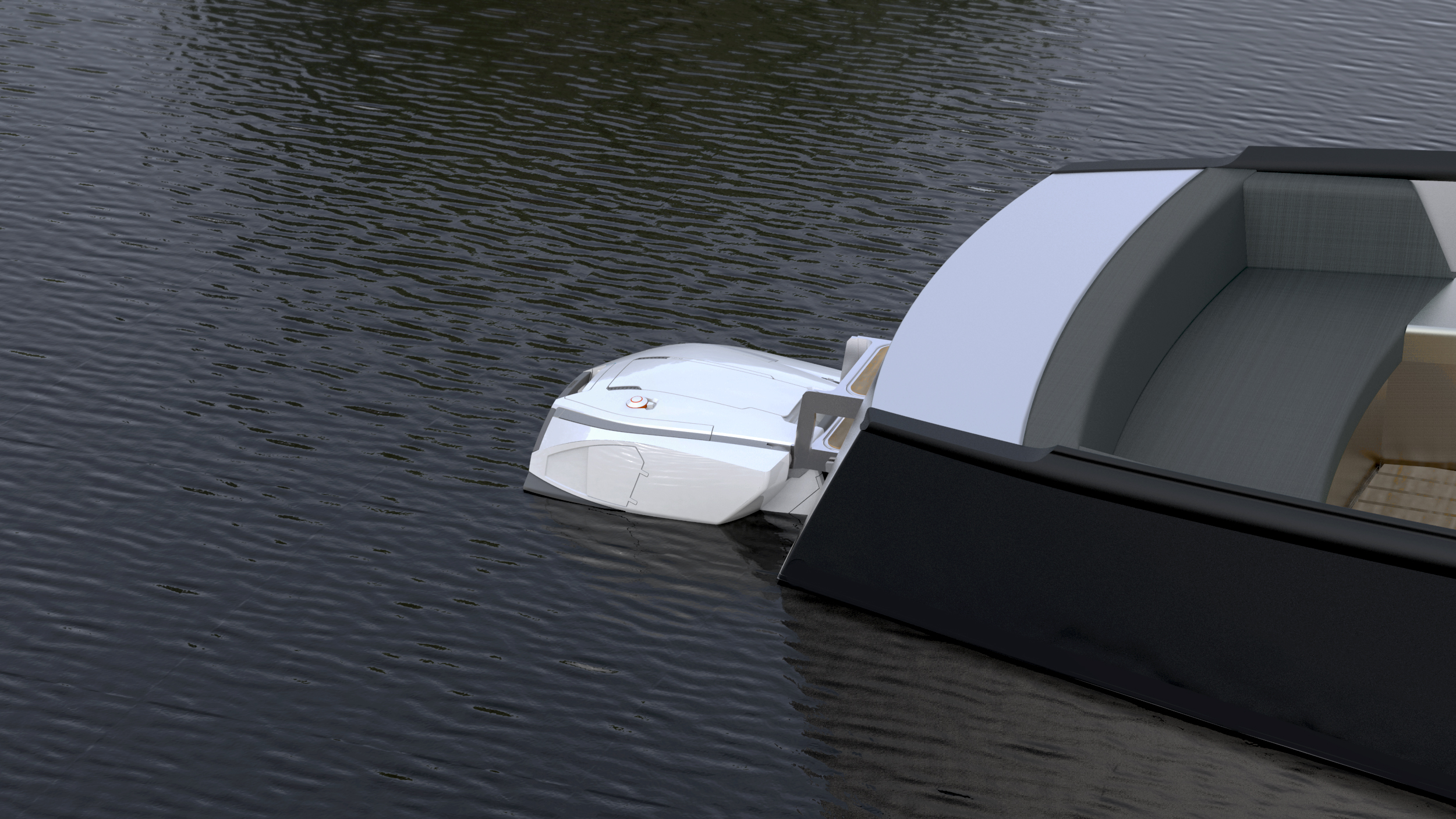 Yamaha boat