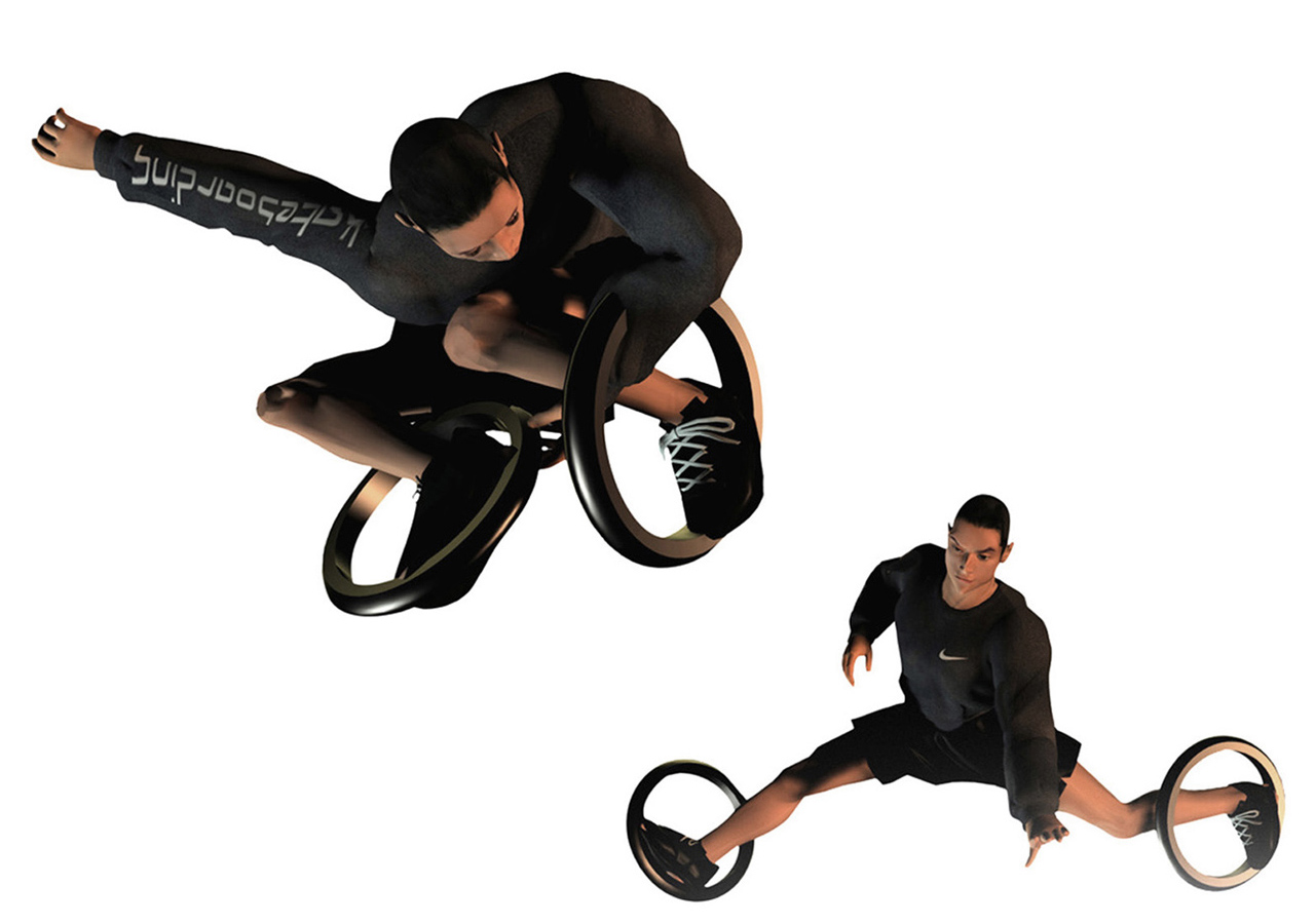 Nike Big-O skates