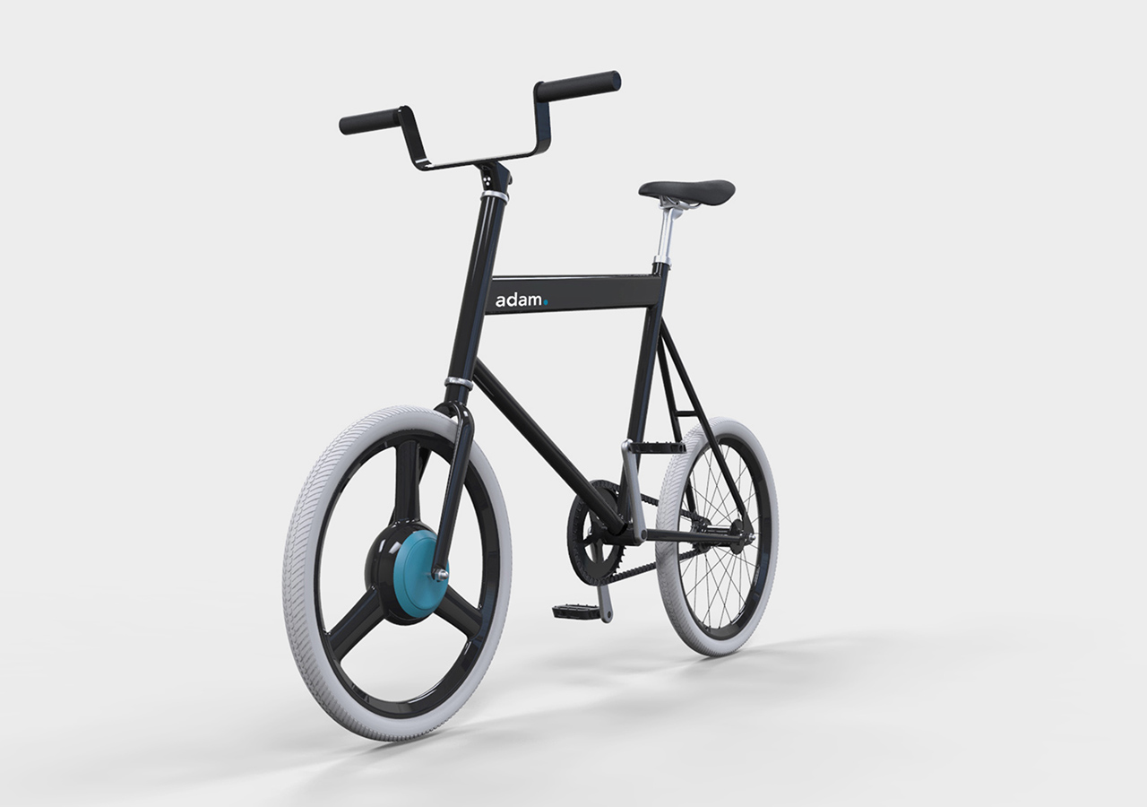 adam. - the student E-bike