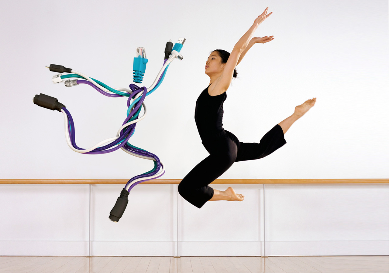 UPC campaign visuals - Ballet