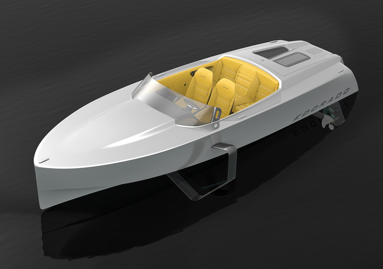 Edorado 7S elektrische speedboat