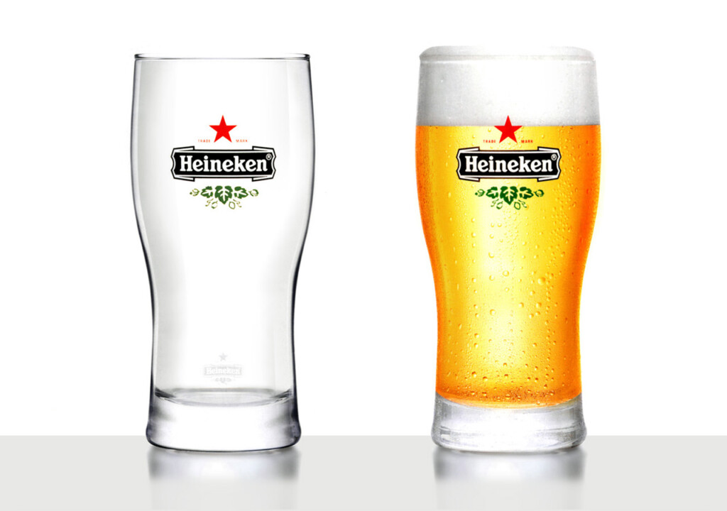 Heineken International glass design collection