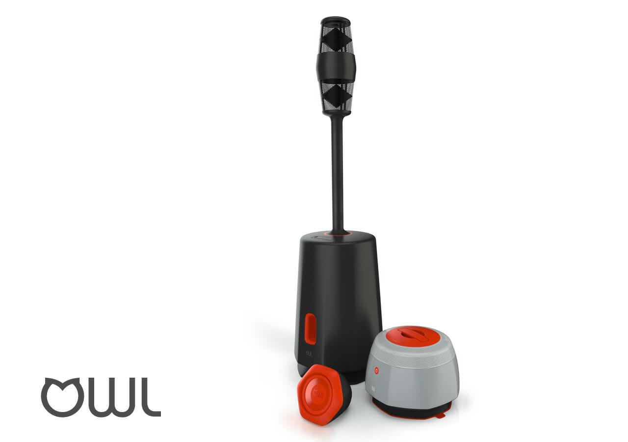 OWL wireless outdoor speakers