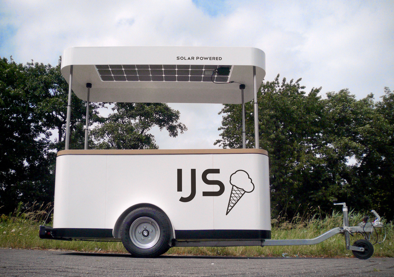 Solar Ice-Cream Cart