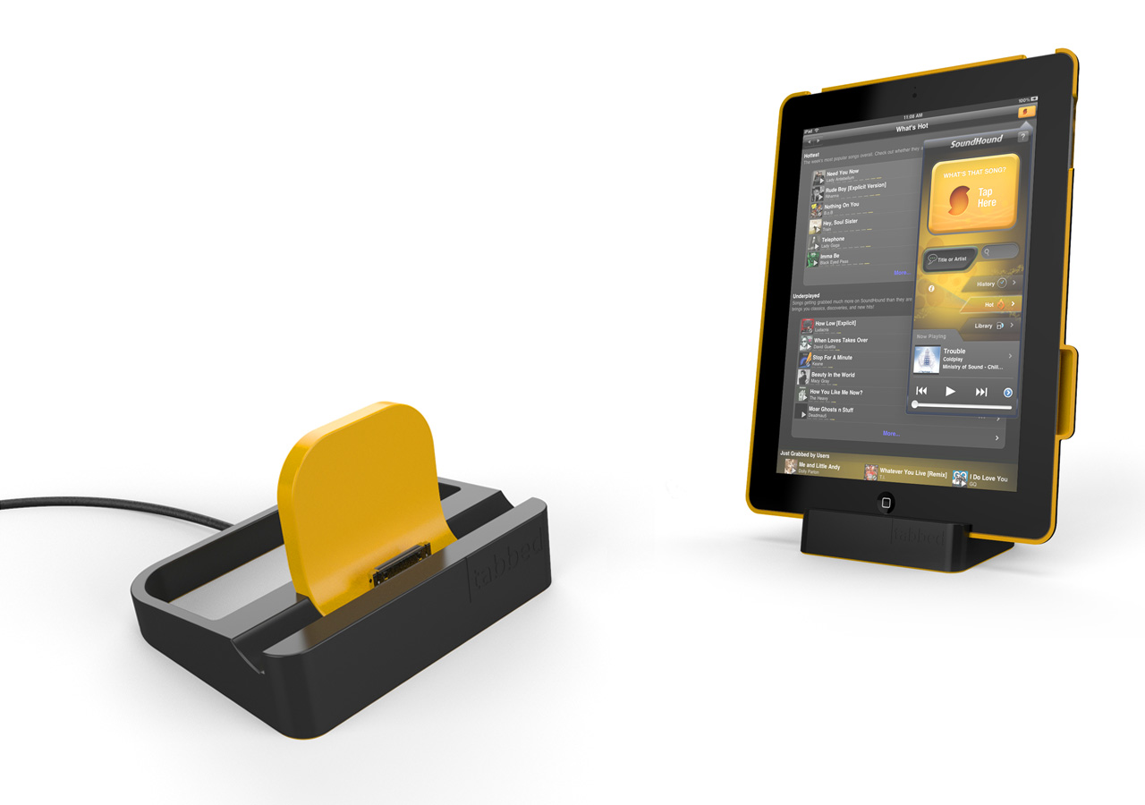 Tabbed tablet accessories