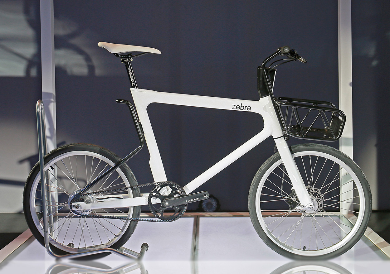 Zebra electric bicycle