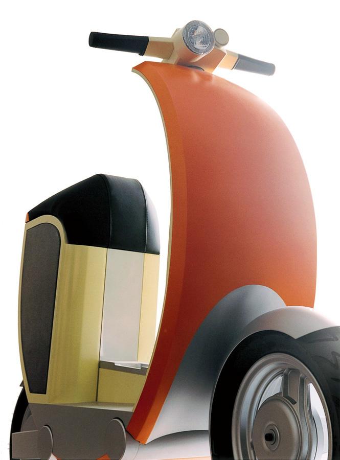 ZEUS electric urban scooter