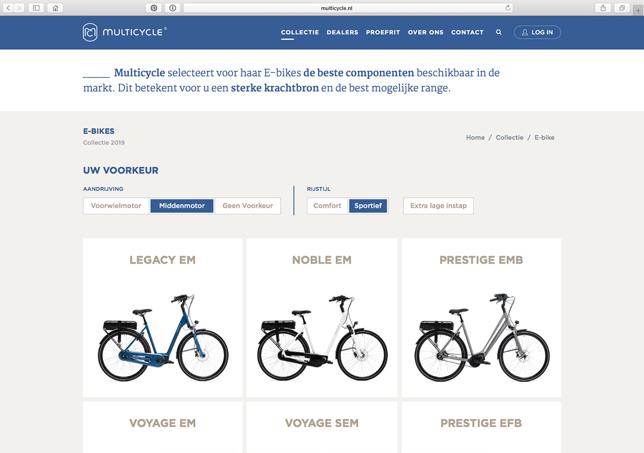Multicycle - website